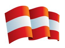 Free Austria Flag Stock Photo - 6848240
