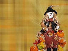 Free Scarecrow Season Stock Images - 6848354