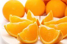 Free Oranges Royalty Free Stock Photo - 6848465