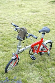 Free Bicycle On The Lawn Stock Images - 6848764
