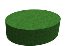 Free Newly Mowed Grass Plinth Royalty Free Stock Images - 6849209