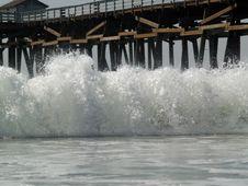 Free Wave Splash Royalty Free Stock Photography - 6849237