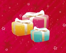 Free Christmas Gifts Royalty Free Stock Images - 6849609