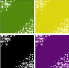 Free Snowflakes Background Stock Photo - 6849620