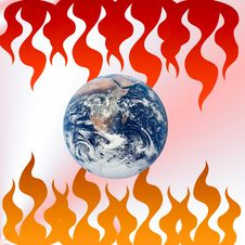 Free Earth,global Warming Royalty Free Stock Images - 6849999