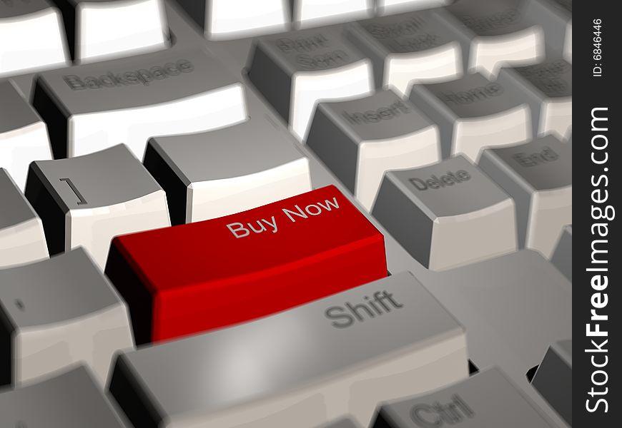 Buy now computer keyboard