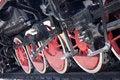 Free Steam Locomotive Wheels Royalty Free Stock Photo - 6854505