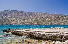 Free Dockyard At Spinilonga, Crete Royalty Free Stock Photo - 6850525