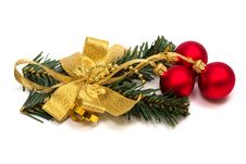 Free Christmas Ornament With Spheres Royalty Free Stock Photo - 6850605