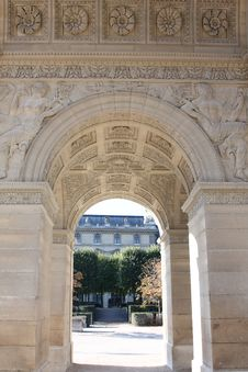 Free Arc De Triomphe Du Carrousel Stock Images - 6850804