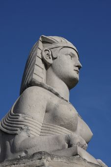 Free Sphinx Statue Stock Images - 6851234