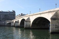 Free Pont Royal Bridge, Paris Royalty Free Stock Photo - 6851285