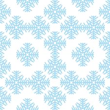 Free Seamless Pattern With Snowflake Stock Image - 6851481