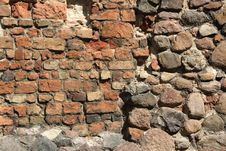 Free Brick And Stone Wall Stock Photos - 6851563