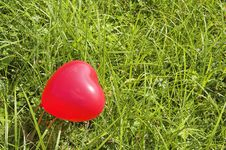 Free Red Heart Balloon Stock Image - 6851791