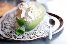 Free Dessert Banane Split Stock Image - 6851961