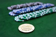 Poker Table Stock Photos