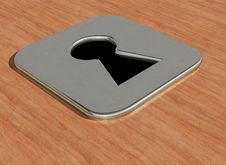 Free Key Hole Stock Image - 6852031