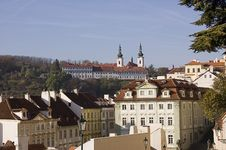 Free View Of Cathedral In Prague Stock Photography - 6852262
