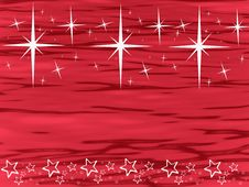 Free White Stars On Red Royalty Free Stock Images - 6852309