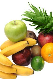 Free Colorful Fresh Fruits Stock Image - 6852351