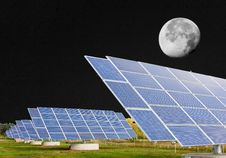 Free Solar Panel Royalty Free Stock Photography - 6852747