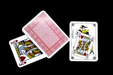 Free Playing Cards Stock Images - 6852764