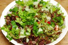 Free Fresh Salad Royalty Free Stock Photo - 6853215