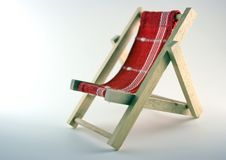 Chaise Longue Royalty Free Stock Image