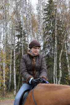 Free Horsewoman Royalty Free Stock Photography - 6854767