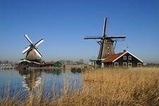 Free Paint Mill De Kat Stock Photos - 6855173