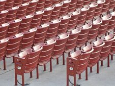 Free Red Seats Stock Image - 6855301