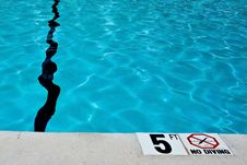 Free No Diving Stock Photo - 6855380