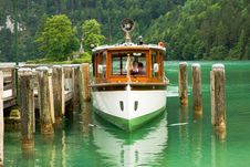 Free Cruise Boat On The Lake Stock Photos - 6855703