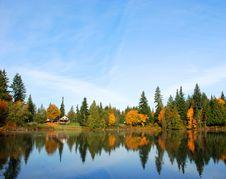 Free Autumn Lake Reflection Stock Images - 6855914
