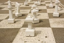 Free Giant Chess Table Stock Photography - 6855962