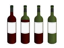 Free Wine Bottles Stock Images - 6855994
