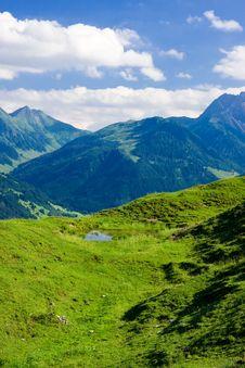 Landscape From Tirol, Austria Stock Photos