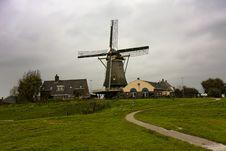 Free Autumn Windmill Stock Photo - 6856020