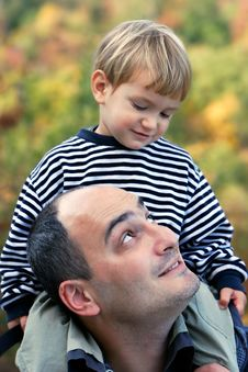 Free Father And Son Stock Photography - 6856112