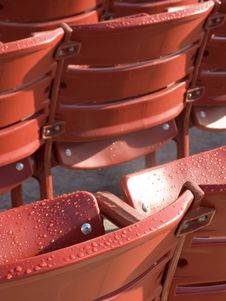 Free Red Seats Stock Photography - 6856702