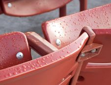 Free Red Seats Stock Image - 6856721