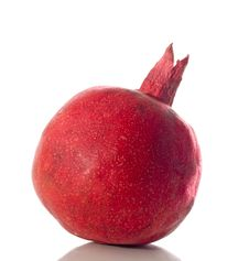 Free Pomegranate Isolated Royalty Free Stock Image - 6857016