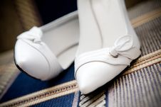 Free White Shoes Royalty Free Stock Images - 6857299