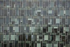 Free Blue Window Office Building Stock Photography - 6857322