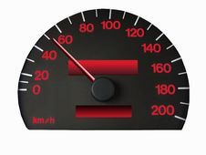 Free Speedometer Royalty Free Stock Image - 6857386