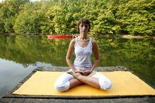 Free Yoga Royalty Free Stock Photography - 6857577
