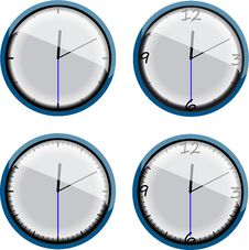 Free Clock4 Royalty Free Stock Photography - 6857617
