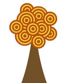 Free Fall Circle Tree Stock Images - 6858374