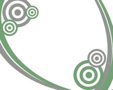 Free Grey And Green Circle Frame Stock Image - 6858381